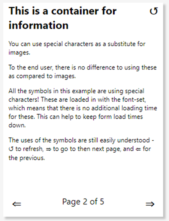 how to use special characters