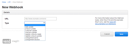 image thumb 3 Integrating Vend with CRM 2015 using Webhooks