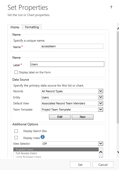 CRM 2013 – Error with Access Team Templates after Deployment