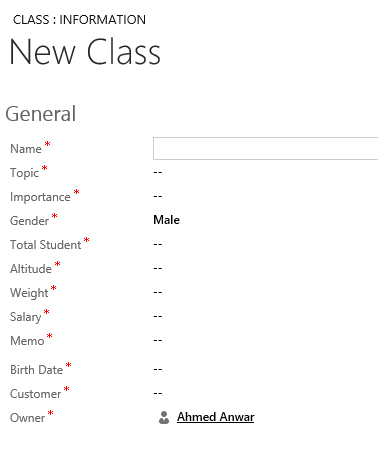 Dynamics CRM 2013 Populating Required Fields with Bookmarklets