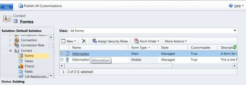 how to create required field in crm dynamics