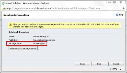 Managed to Unmanaged Solution Dynamics CRM 2011 – Easy!