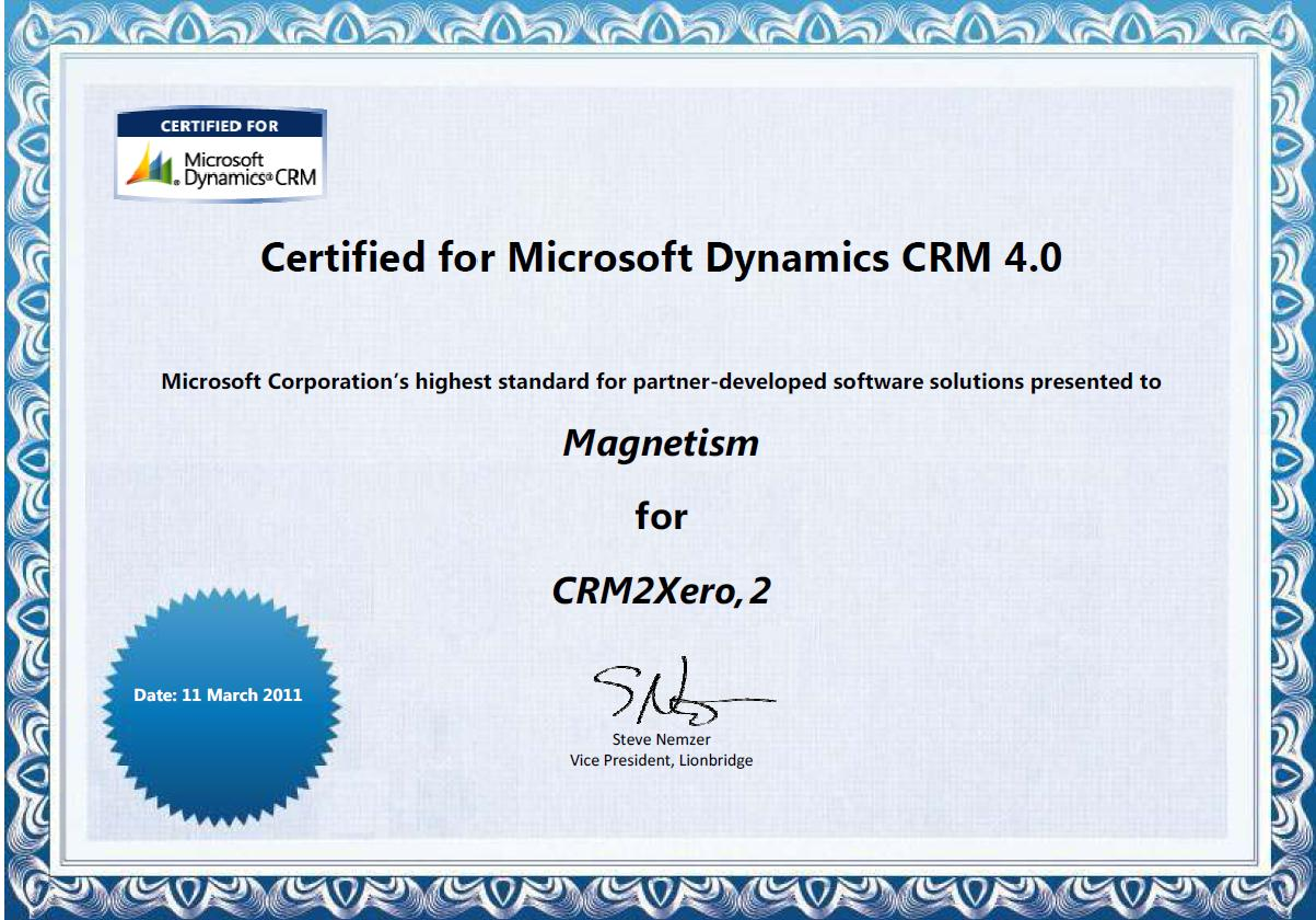 Magnetism first in nz certified for microsoft dynamics cfmd magnetism first in nz certified for microsoft dynamics cfmd xflitez Images
