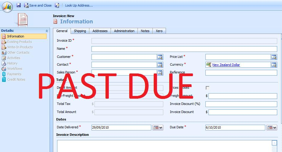 Automatic Bill Collections with Microsoft Dynamics CRM