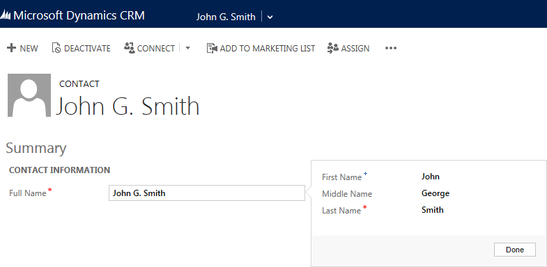 How To Change The Full Name Format For Contacts In Microsoft
