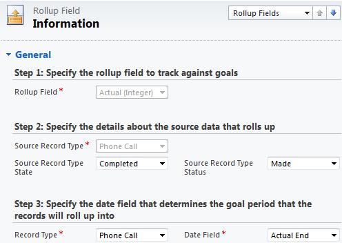 Goals Management in Dynamics CRM 2011 Goal Metrics 2