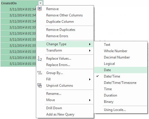 Power BI Microsoft Dynamics CRM 2013 – Part 14