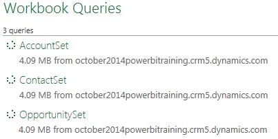 Power BI Microsoft Dynamics CRM 2013 – Part 3