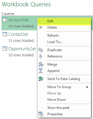 Power BI Microsoft Dynamics CRM 2013 – Part 5