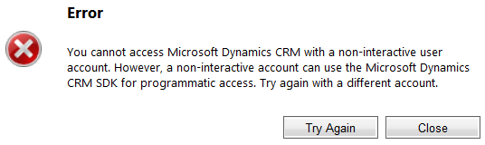 Restricting Access for Integrations to Microsoft Dynamics CRM Online Using the Non Interactive Access Level