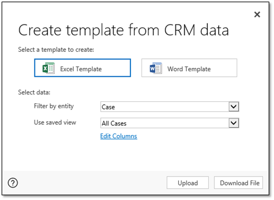 Dynamics Crm 2016 Excel Templates Magnetism Solutions Nz