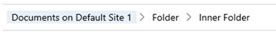 image thumb 1 Dynamics 365 V9   SharePoint Integration Now Displays Folders Again