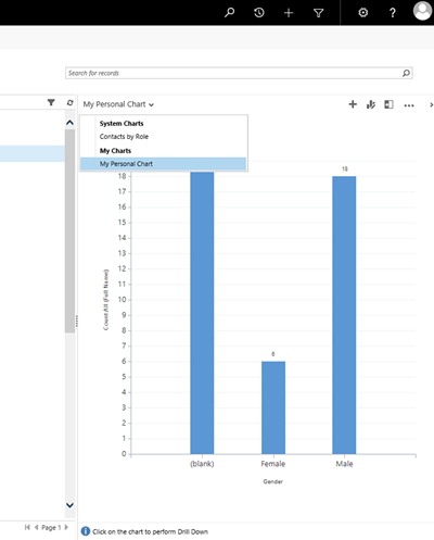 image thumb 2 Migrating Personal Dashboards and Charts using Impersonation in Dynamics 365