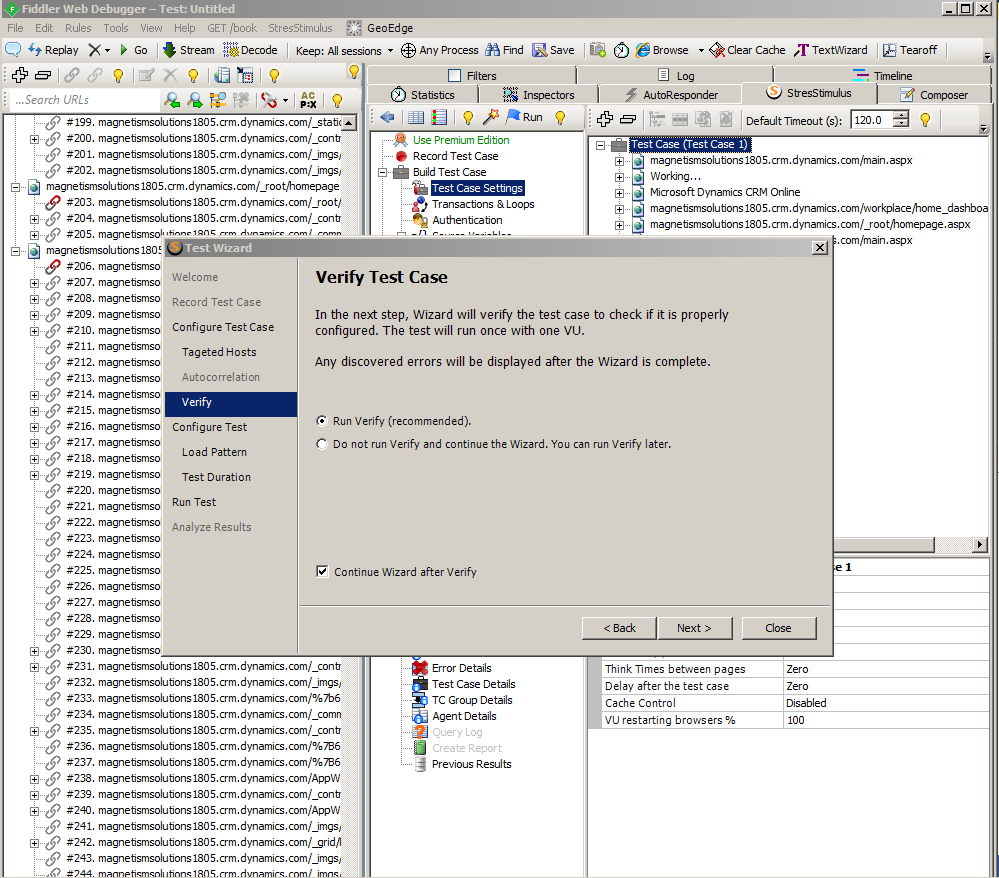 Performance Testing with Stress Stimulus in Microsoft Dynamics CRM 2013