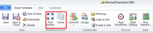How to create Email Templates in Dynamics CRM 2011 using ClickDimensions