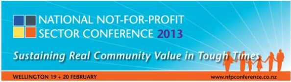 National NFP Sector Conference 2013