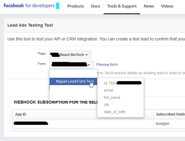 image thumb How to Use the Facebook Lead Ad Testing to Dynamics 365 with Zapier