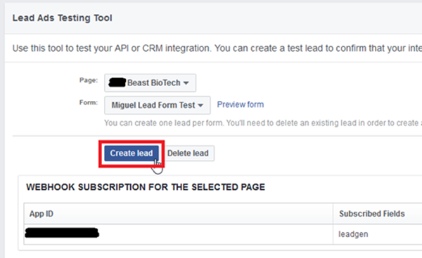 image thumb 3 How to Use the Facebook Lead Ad Testing to Dynamics 365 with Zapier