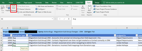 image thumb 10 How to Create Custom Test Execution Reports in Excel from Team Foundation Server   Part 1