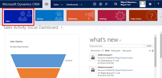 image thumb 1 Selenium with Dynamics CRM Automating Clicks in Navigation Groups