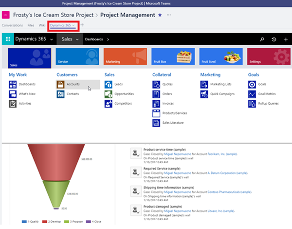 image thumb 2 Microsoft Teams and its Impact with Microsoft Dynamics 365