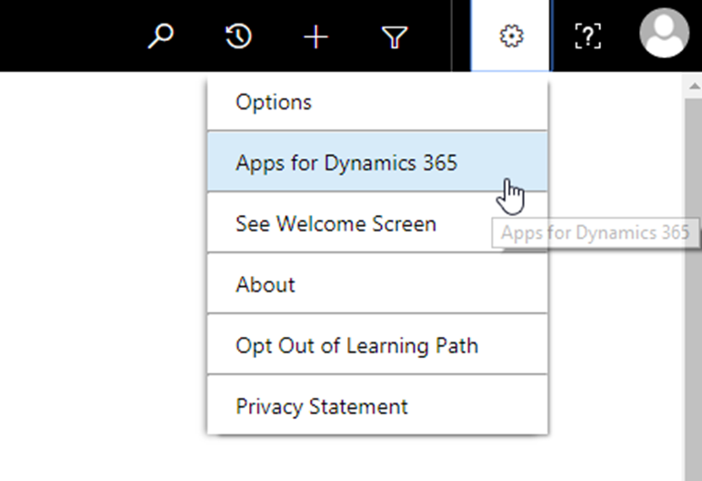 Dynamics 365 App for Outlook is Missing under Manage Add-ins