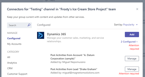 image thumb 7 Step by Step Guide Connecting Microsoft Dynamics 365 with Microsoft Teams