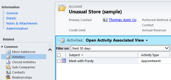 Default Activities Filter on to All Dynamics CRM 2011