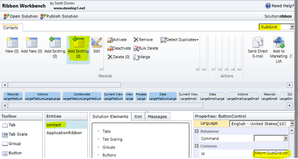 Filter N:N Add Existing Lookup Dynamics CRM 2011 Rollup 12