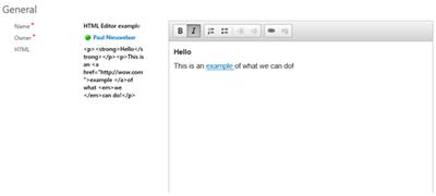 image thumb 4 Basic HTML Rich Text Editor for Microsoft Dynamics CRM 2015