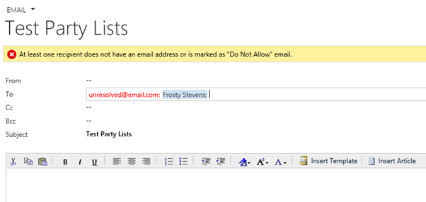 working with dynamics crm activity party lists in c plugins
