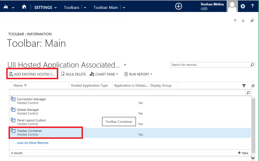 Create A Toolbar In Unified Service Desk