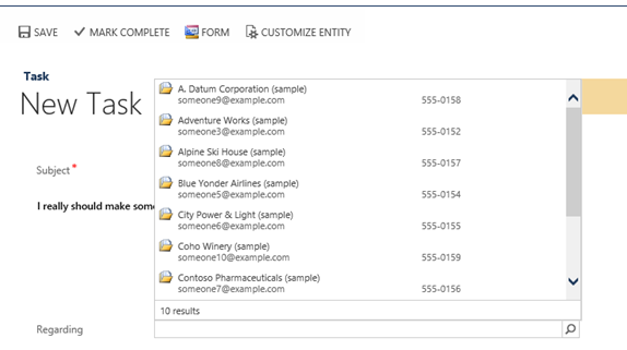 CRM 2013 Process Forms Everywhere