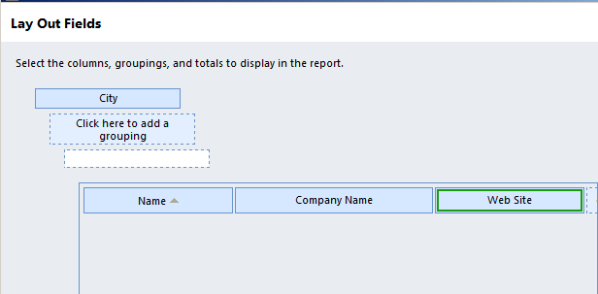 CRM Report Wizard The Foundation for Custom Report