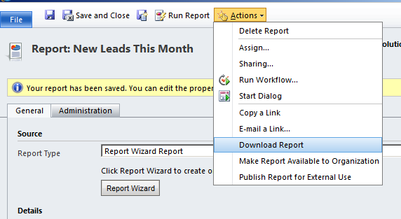 CRM Report Wizard The Foundation for Custom Reports