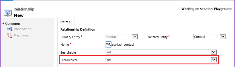 Customizing Hierarchies in Microsoft Dynamics CRM 2015