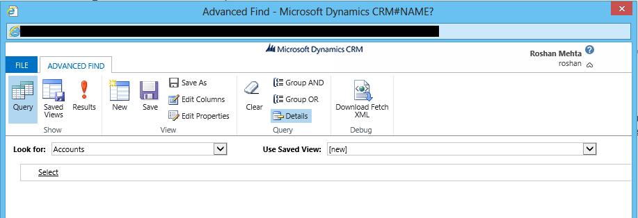 Global Advanced Find is Here in Microsoft Dynamics CRM 2015