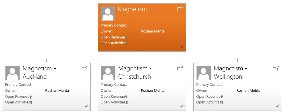 Microsoft Dynamics CRM 2015 Hierarchies