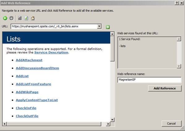 Programmatically Retrieve Documents from SharePoint