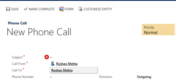 Search by Phone Number in CRM 2013
