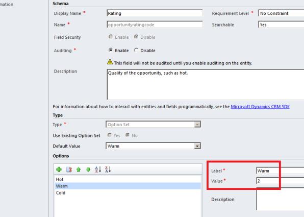 Setting Values Programmatically via the CRM 2011 SDK