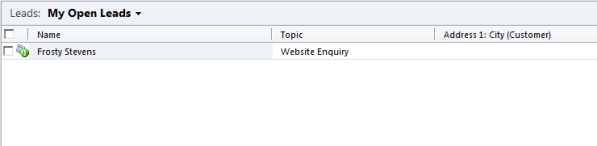 Unable to Sort View Columns in Dynamics CRM 2011