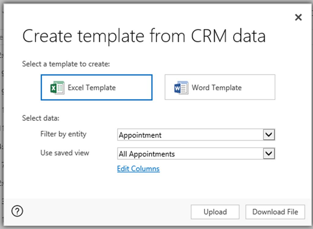 Excel Template Gotcha In Microsoft Dynamics 365 Magnetism