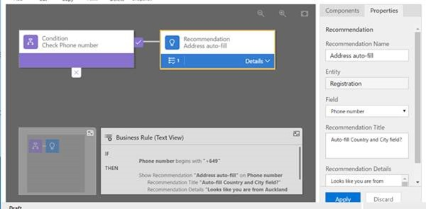 clip image012 thumb How to Use Recommendations in Dynamics 365 Business Rules