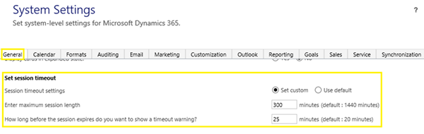 image thumb How to Change User Session Timeout Settings in Dynamics 365 Online