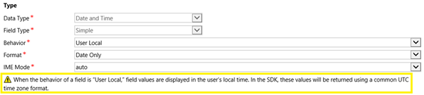 image thumb 3 Introduction to Behaviours of Date and Time Fields in Dynamics 365