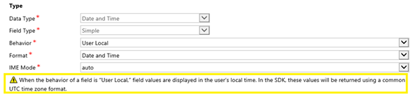 image thumb Introduction to Behaviours of Date and Time Fields in Dynamics 365