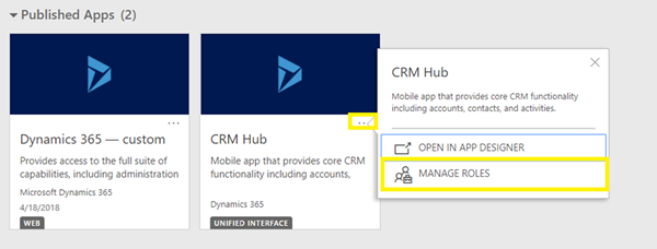 image thumb 2 Can't Find Any Apps Error on Dynamics 365 v9 Mobile Client