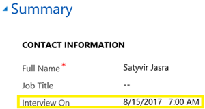 image thumb 2 Introduction to Behaviours of Date and Time Fields in Dynamics 365