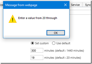 image thumb 1 How to Change User Session Timeout Settings in Dynamics 365 Online